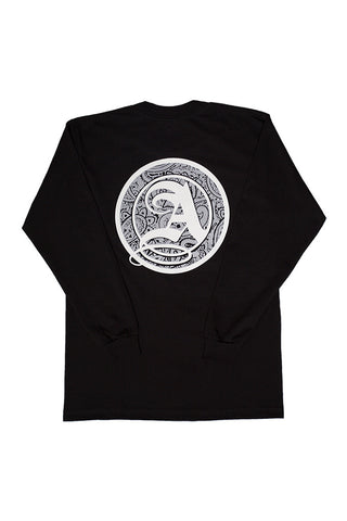 Paisley Logo Long Sleeve Tee