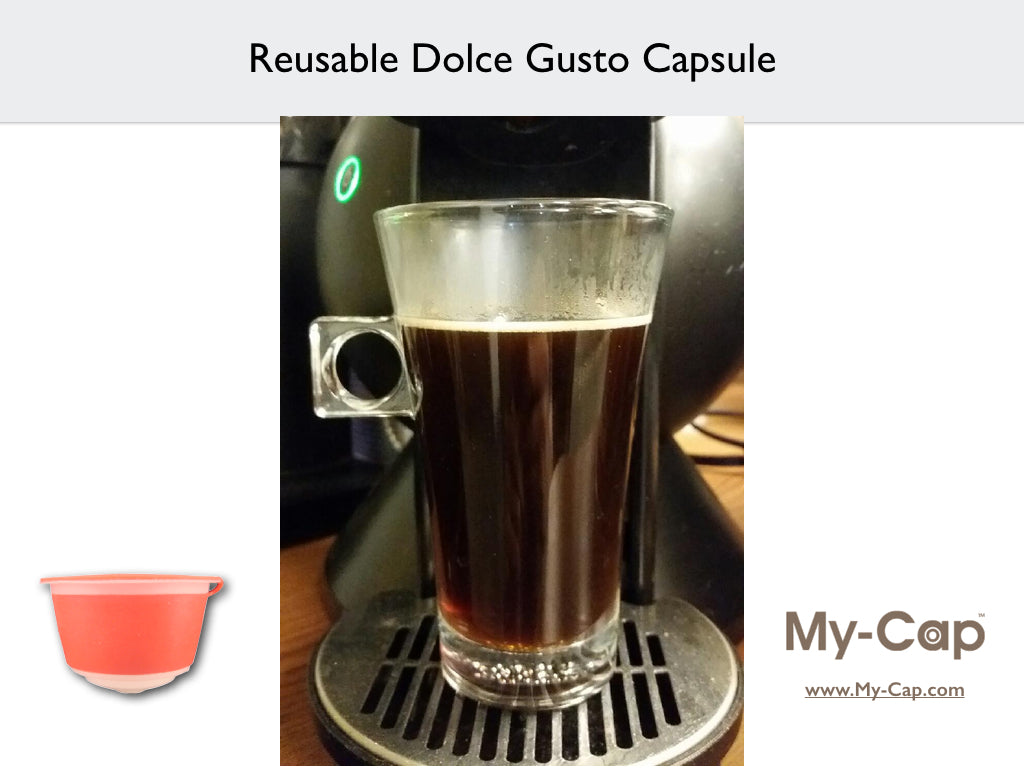 Reusable Dolce Gusto Capsule Crema