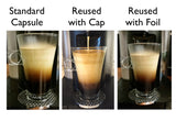 My-Cap Sampler - Complete Solution to Make Your Own Capsules for Nespresso VertuoLine Brewers