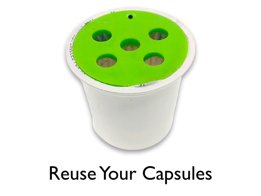 My-Cap - 5 Caps for use with Keurig Supreme K-Cup Brewers, Reuse your K-Cups