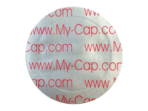 My-Cap Foil Seals to Reuse Your Keurig Rivo Packs, Capsules, Pods, Reusable
