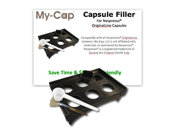 My-Cap Capsule Filler for Nespresso OriginalLine Brewers