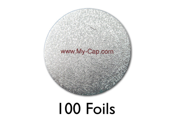 My-Foil - 100 Adhesive Foils for Keurig K-Cup Brewers