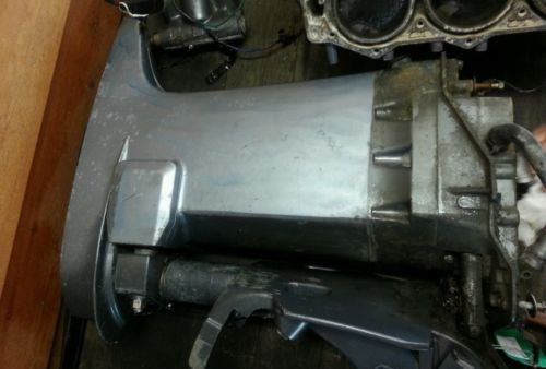 1999 Yamaha Outboard V6 150 HP UPPER CASING MID SECTION 6E5-45111-01-8D