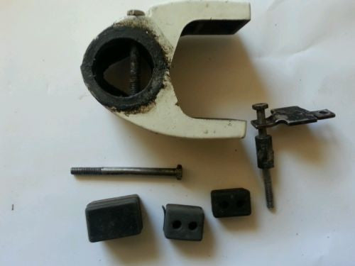 1989 Evinrude Johnson 9.9 hp LOWER MOUNT BRACKET SET with BOLTS and BUSHINGS