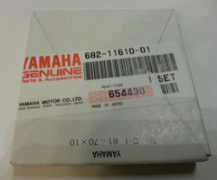 1984-2006 genuine Yamaha piston ring set 9.9-15 HP NEW 682-11610-01-00 HD