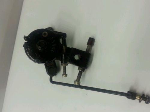 1985 Mercury Throttle Cam / Lever Assembly & Arm w/ Idle Stop Good Condition I 6