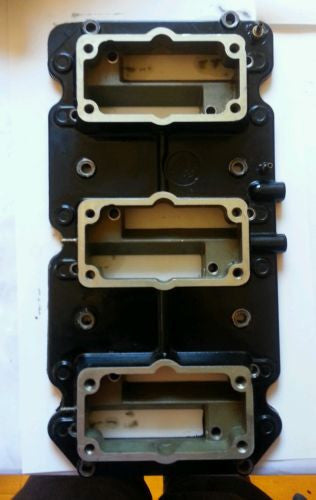 1988-1990 Mercury 200 HP EFI REED BLOCK HOUSING ASSEMBLY Great condition (MT)