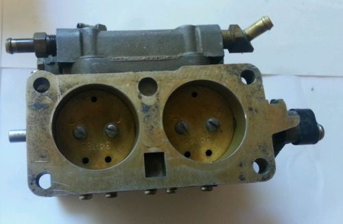 1978-90 Mercury 2.4L merc 200 HP UPPER carb CARBURETOR 9242a42 cg