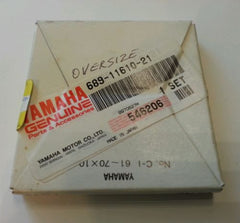 1984-1992 Genuine Yamaha 1 piston ring sets 25-30 HP 689-11610-21-00 HD