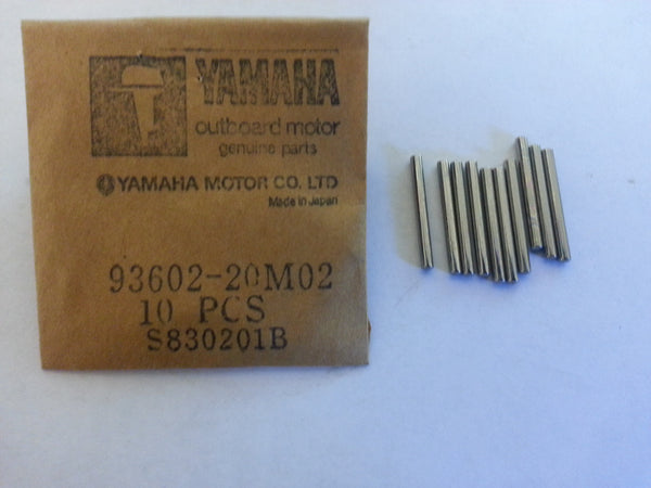 *Yamaha 29-84452m 93602-20M02-00 Rod Roller Bearings 84-90' 35-50HP