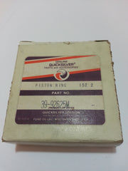 1977-1989 Mariner Quicksilver 92625M Piston Rings (2) 48-55-60 HP (Mc)