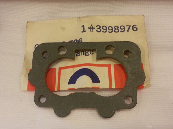 Delco CARBURETOR MOUNTING GASKET Part # 3998976 (HD*)
