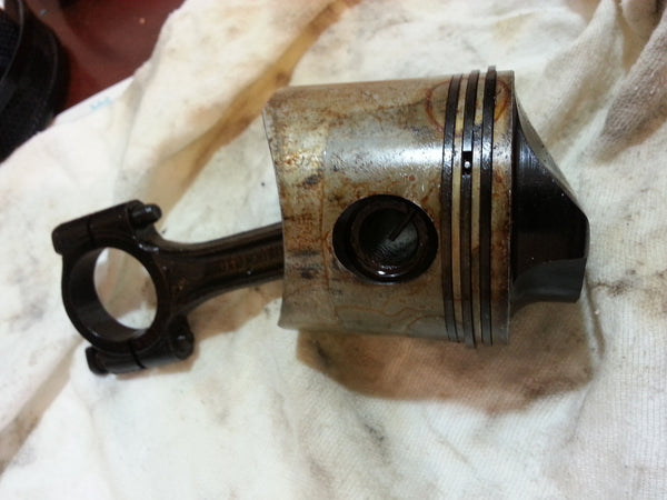 1971-1997 Mercury 5172A6/743-3192 Piston & Connecting Rod Assy 20-50 HP (MT*