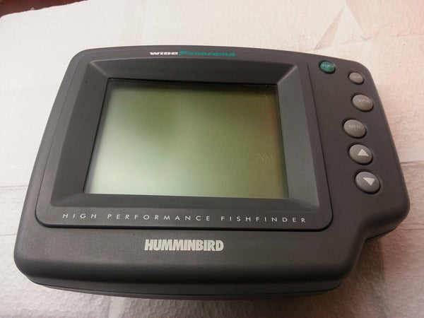HUMMINBIRD High Performance Wide Parorama Fishfinder Fish Finder Broken hd*