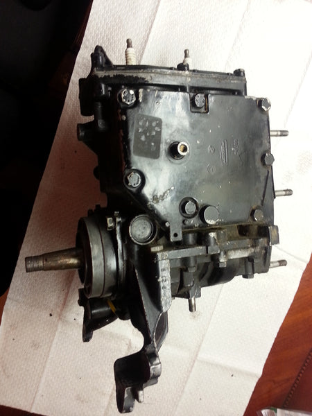 1973-1977 Mercury 6064A1 Powerhead Engine Block Assembly OEM 20 HP MT*