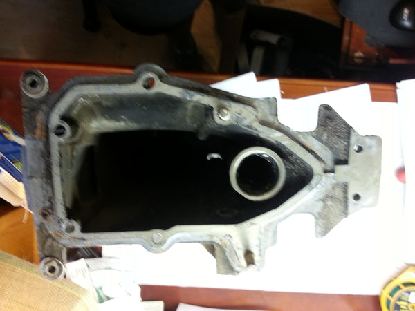 1981 Evinrude Johnson 0391140 Outer Exhaust Housing Assembly OEM 25 HP MT*