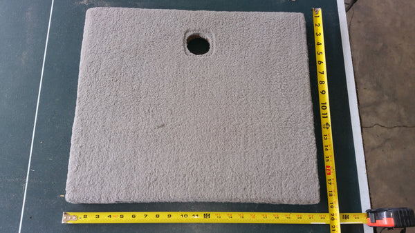 "~Factory Ranger Boat Fiberglass Hatch Lid Door Compartment 20-3/4"" x 17-7/8"""