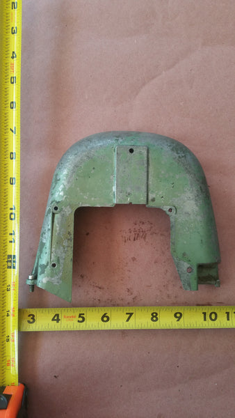 ~Original 1955 Johnson QD-16 Seahorse 10Hp Lower Rear Motor Cover 0304005 304005