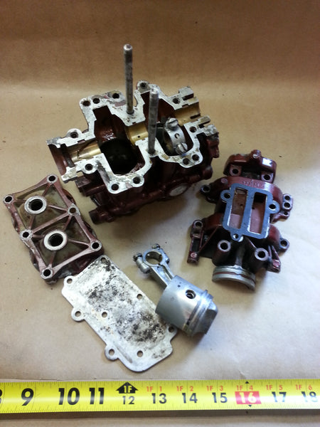 ~1958 JW-13/14 Johnson 3 HP Motor Engine Block Powerhead 1631958,277173