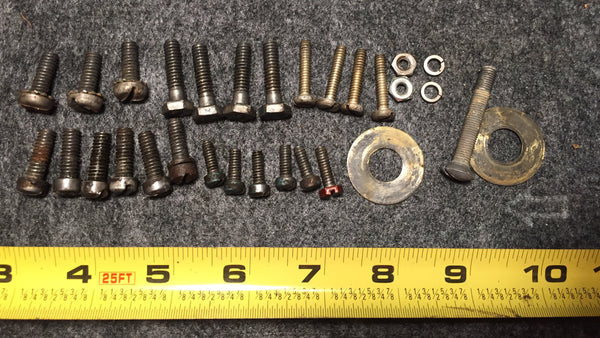~1956 Johnson Evinrude Fleetwin 5.5 Hp Bolts Screws Nuts Washer Lot*