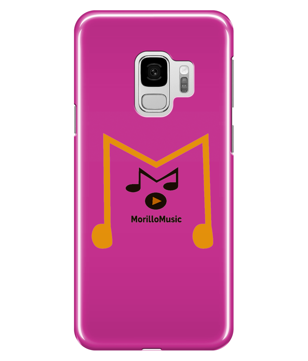 SAMSUNG GALAXY S9 FULL WRAP CASE MORILLO MUSIC LOGO Phone Cases - MORILLO ENTERPRISE