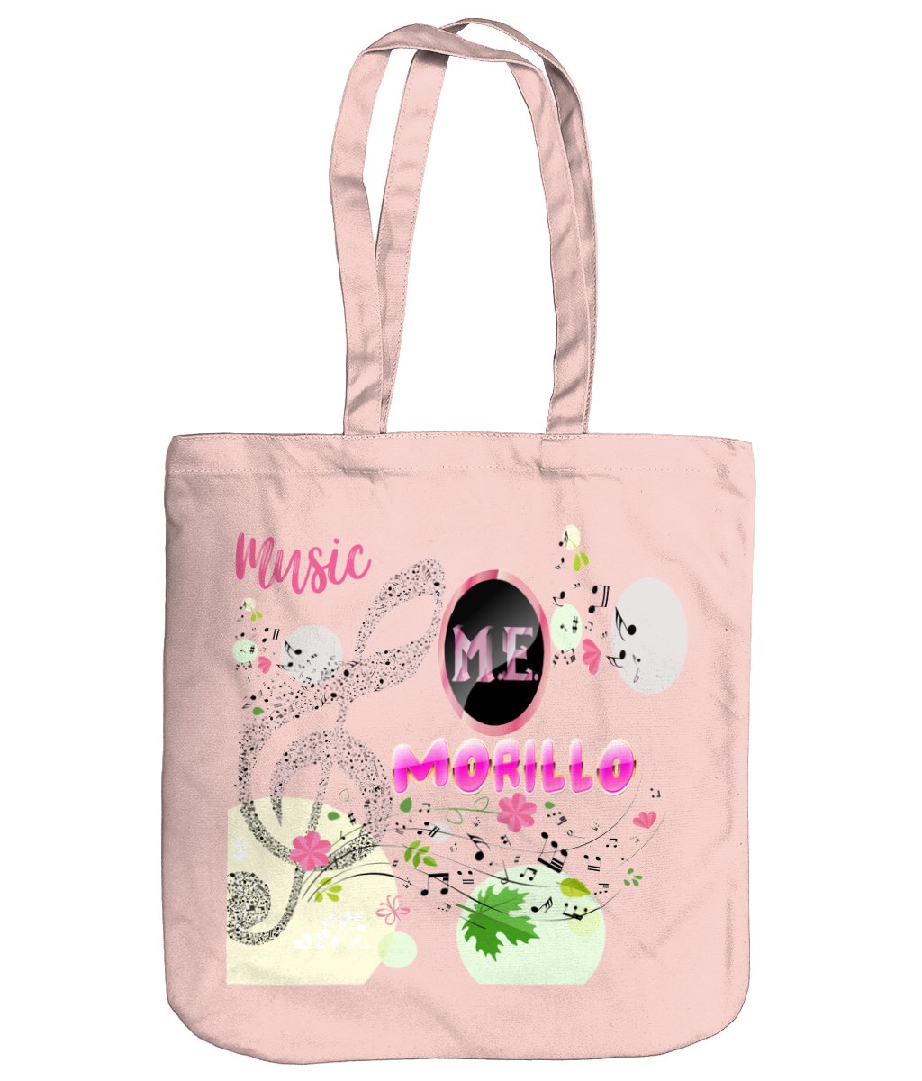 MORILLO SPRING BRIGHT MUSICAL ORGANIC TOTE Accessories & Homeware - MORILLO ENTERPRISE