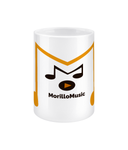 15oz Ceramic Mug Morillo Music Logo Accessories & Homeware - MORILLO ENTERPRISE