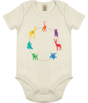 Baby Animal Organic Cotton Bodysuit Children Clothing - MORILLO ENTERPRISE