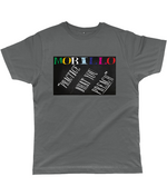 CHALKED GRAPHIC STRETCH T-SHIRT Clothing - MORILLO ENTERPRISE