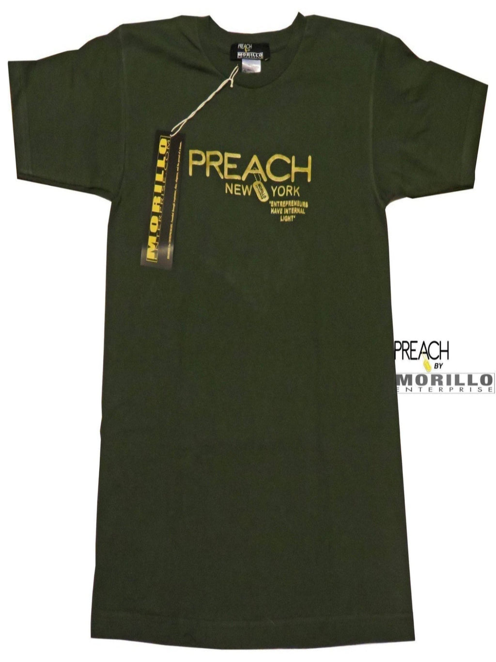 PREACH NEW YORK Signature T-SHIRT T-Shirts, Crewneck - MORILLO ENTERPRISE