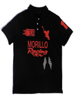 RACE THEME PIQUÈ POLO SHIRT Polo Shirts - MORILLO ENTERPRISE