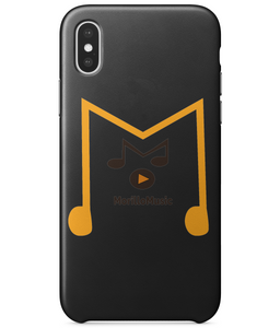 IPHONE X FULL WRAP CASE MORILLO MUSIC LOGO Phone Cases - MORILLO ENTERPRISE