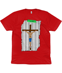 PREACH CRUCIFIXION GRAPHIC T-SHIRT Clothing - MORILLO ENTERPRISE