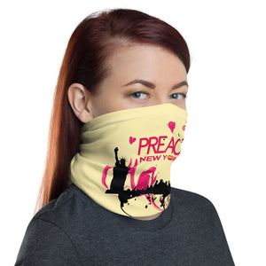PREACH New York NECK GAITER FACE MASK FACE MASK - MORILLO ENTERPRISE
