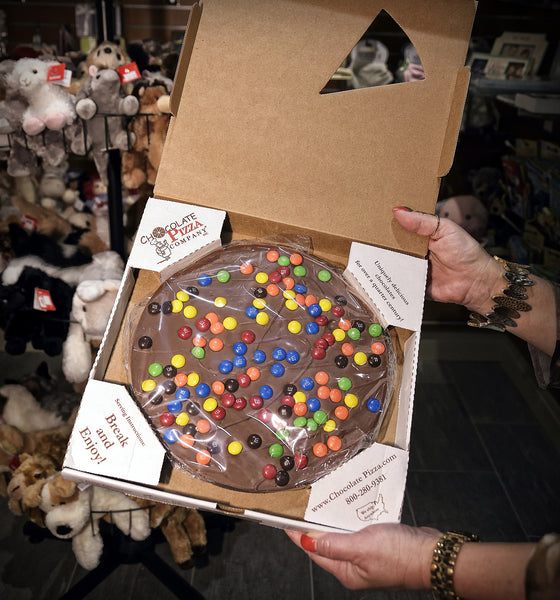 Chocolate Pizza Company - Candy Decorated 'Pizza'