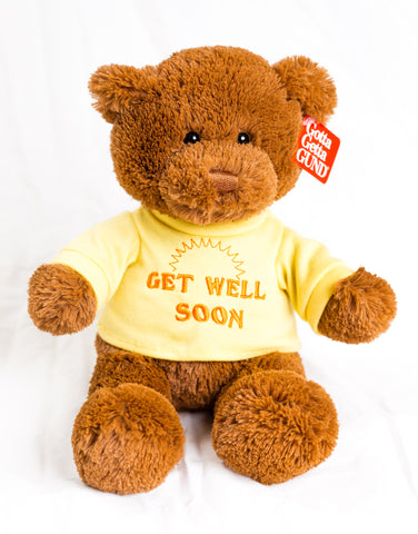 'Get Well' Tshirt Bear