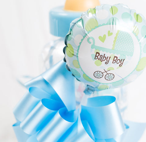 'New Baby Boy' Mylar Balloon Gift Item