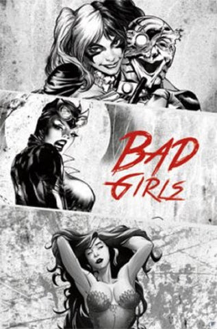 Bad Girls DC Comics Poster 22x34