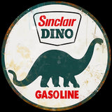 Sinclair Dino Oil Gas Vintage Logo Advertisement Mirror Sign