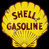 Shell Gasoline Oil Vintage Logo Advertisement Mirror Sign