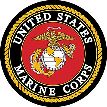 United States Marines Mirror Sign