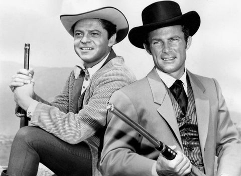 Wild Wild West Robert Conrad and Ross Martin  8x10 Photograph