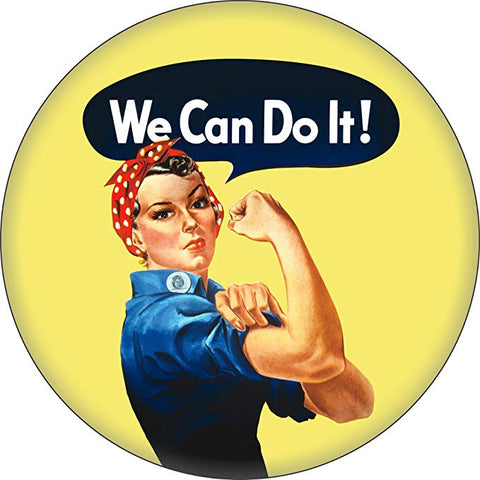 Rosie The Riveter Mirror Sign