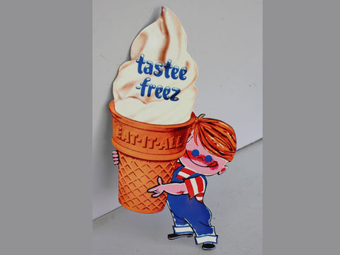 Tastee Freez Ice Cream Mirror Sign