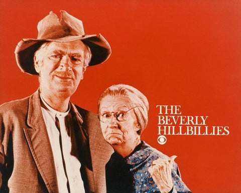 Beverly Hillbillies Jed and Granny 8x10 Glossy Photo