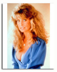 Farrah Fawcett Blue Dress  8x10 Glossy Photo