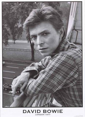 David Bowie London 1977 Rare Poster