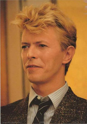 David Bowie Portrait 1983 Original  Rare Poster