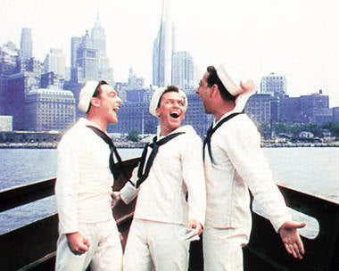 Frank Sinatra On The Town Cast    8x10 Photograph